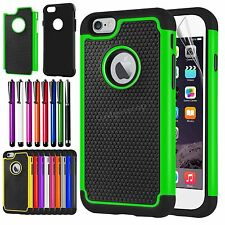 Shockproof Rugged Hybrid Rubber Hard Cover Case For APPLE iPhone 6 iPh