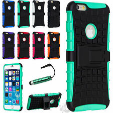 "For Iphone 6 4.7"" , Plus 5.5"" Rubber Hybrid Armor Impact Defender Skin"