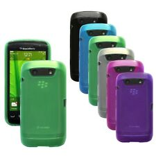 TPU Silicone Rubber Gel Case Cover Skin for Blackberry Torch 9850 9860