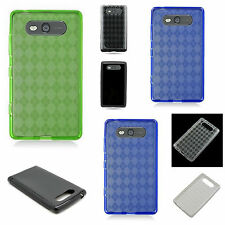 For Nokia Lumia 820 TPU Case - Slim Fit Flexible Rubber Grip Cover