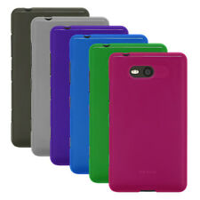 Transp Matte TPU Rubber Gel Case Cover for Nokia Lumia 820