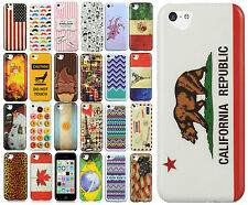 For Apple iPhone 5C TPU Candy Gel Hard Skin Case Protector Cover + Screen Guard