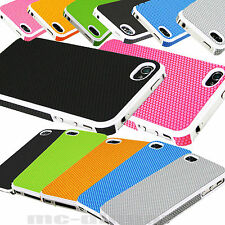 Hybrid Rugged Impact PC NICE  Matte Hard Case Cover for iPhone 4G 4S +