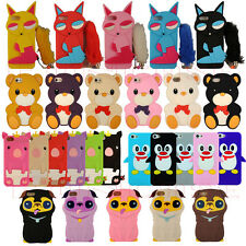 Cute Popular Funny Good Charming Cartoon Animal Character iPhone 5 Sof