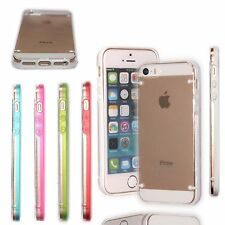 For iPhone 5 , 5S Ultra Thin Transparent Crystal Clear Hard TPU Case C