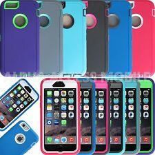 "Protective Hybrid Shockproof Hard Case Cover For Apple iPhone 6 4.7"",5"