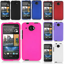 For HTC Desire 601 Zara Virgin Rubberized Hard Matte Case Snap On Phon