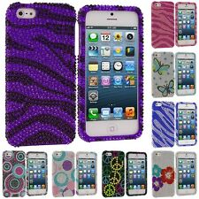 Color Bling Diamond Rhinestone Luxury Cute Hard Case Cover for iPhone