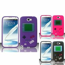 For Samsung Galaxy Note 2 N7100 Gameboy Silicone Case Cover