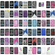 Color Bling Rhinestone Diamond Hard Case Cover Accessory For iPhone 3 3GS 3S Gen