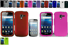 Any Solid Hard Case+Screen Protector - Samsung Galaxy Exhilarate SGH-i577 Phone