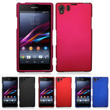 For Sony Xperia Z1 Colorful Rubberized Hard Case Snap On Cover Phone A