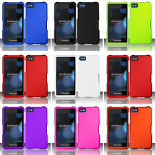 For BlackBerry 10 Z10 Colorful Rubberized Hard Case Snap On Cover Acce