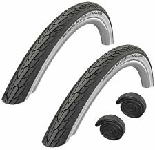 """20"""" x 1.75 SCHWALBE ROAD CRUISER WHITE WALL Puncture Protection Bike /Cycle Tyre"""