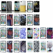 Colorful Pattern Snap-On Phone Cover Hard Case Skin For Apple iPhone 4/4s