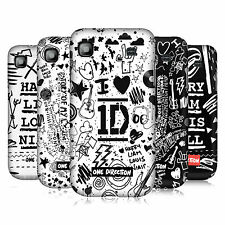OFFICIAL ONE DIRECTION DOODLE DESIGN HARD BACK CASE FOR SAMSUNG GALAXY S I9000