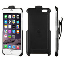 For Apple iPhone 6 Plus 5.5 4.7 Slim Protective Belt Clip Holster Case Black