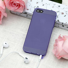 For Apple iPhone 5S 5 GGMM Ultra Thin Slim TPU Soft Gel Skin Case Matte Cover