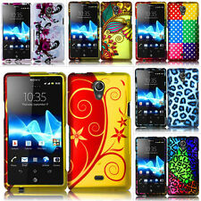 For Sony Ericsson Xperia TL LT30at AT&T Design Hard Case Snap On Cover