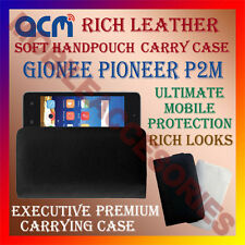 ACM-RICH LEATHER SOFT CASE for GIONEE PIONEER P2M MOBILE HANDPOUCH COVER NEW