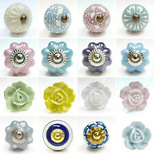 Colourful Ceramic Knobs Drawer Pulls Cupboard Door Knobs