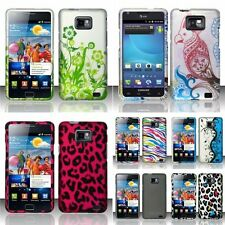 For Samsung Galaxy S II i777,i9100 Rubberized Hard Design Case Cover