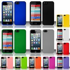 New Ultra Thin Protective Hard Snap-on Cover Case For iPhone 5S 5