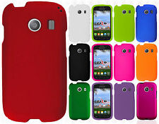Samsung Galaxy Stardust S766C Rubberized HARD Protector Case Cover +Screen Guard