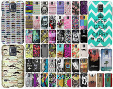 Samsung Galaxy S5 Rubberized HARD Protector Case Phone Cover + Screen Protector