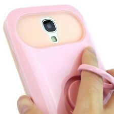 For Samsung Galaxy S4 S IV 4 I9500 Candy Night Glow Hybrid Ring Stand Case Cover