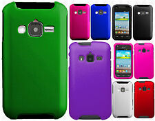 For Samsung Galaxy Rugby Pro i547 Rubberized HARD Case Cover + Screen Protector