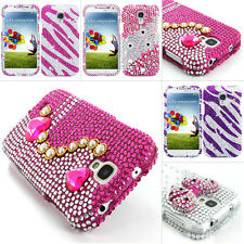For Samsung Galaxy S4 S IV mini Colorful Bling Diamond Hard Case Cover Accessory