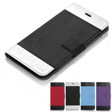 Leather Flip Wallet Case Cover Folio Pouch Stand For Apple iPhone 6 ,