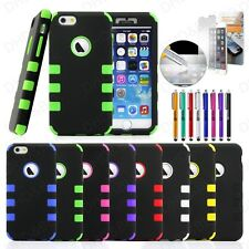 "Shockproof Rugged Hybrid Rubber Hard Cover Case for iPhone 6 4.7"" , 6"