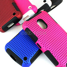 For Nokia Lumia 620 Colorful APEX Hybrid Gel Hard Case Cover Phone Accessory