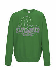 Harry Potter Inspired Slytherin Quidditch Mens Sweat Shirt