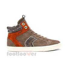 Scarpe Geox New Club Suede D5458A C1B5H Sneakers Casual Moda Donna Dove Grey IT