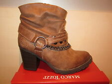 Marco Tozzi Boots, Boots/Ankle boots, brown, light Fed. RV NEW