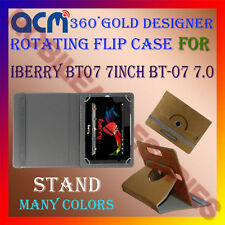 ACM-DESIGNER ROTATING 360° FLIP STAND COVER CASE of IBERRY BT07 7INCH BT-07 7.0