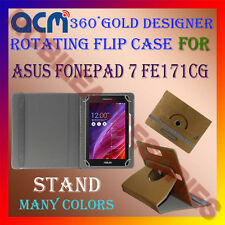 ACM-DESIGNER ROTATING 360° FLIP STAND COVER CASE for ASUS FONEPAD 7 FE171CG TAB