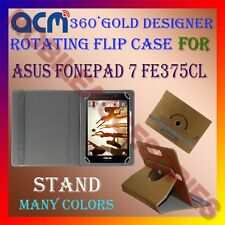 ACM-DESIGNER ROTATING 360° FLIP STAND COVER CASE for ASUS FONEPAD 7 FE375CL TAB