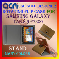 ACM-DESIGNER ROTATING 360° FLIP STAND COVER CASE SAMSUNG GALAXY TAB 8.9 P7300