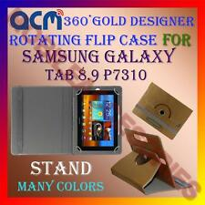 ACM-DESIGNER ROTATING 360° FLIP STAND COVER CASE SAMSUNG GALAXY TAB 8.9 P7310