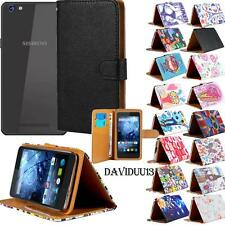 For Various Siswoo Mobile Phones Stand Leather Wallet Card Flip Folio Case Cover