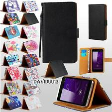 For Various Star Mobile Phones - Stand Leather Wallet Card Flip Folio Case Cover