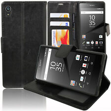 Housse Etui Coque Portefeuille Video Sony Xperia Z5 E6603 E6653/ Z5 Dual E6633