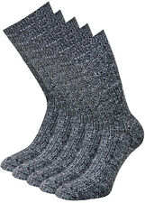 Thermo Socken Wollsocken Norwegersocken Wintersocken mit Frotteesohle