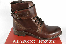 Marco Tozzi Women's Boots Ankle boots Lace up boots, Boots, RV, brown new