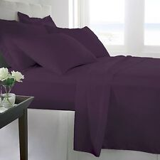 Purple Bed Sheet Set - Queen - King - Full - Twin - CalKing - 1800 Becky Cameron