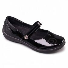 Padders LYRIC Femmes Confort Extra/Super Large Mary Jane Chaussures Noir